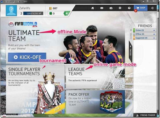 FIFA GAme MOde
