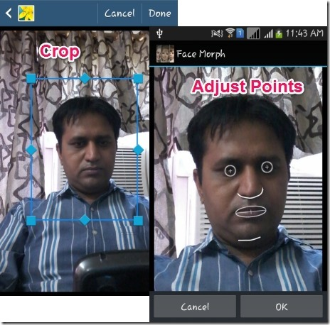 Free Face Morphing App For Android To Morph Multiple Photos Together