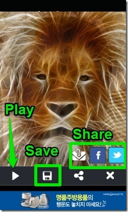 Face Morph-save and share