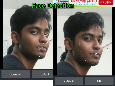 Face Warp- face detection