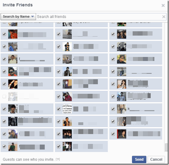 Facebook Invite All-FirstImage