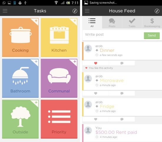 Fairshare For Android Share Tasks And Split Cost With Roommates