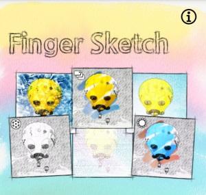 Finger Sketch- interface
