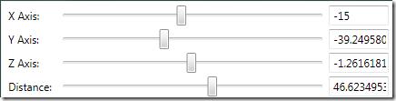 Geometry Visualizer 3D-ControlPanel