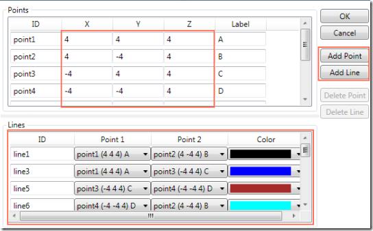 Geometry Visualizer 3D-EditModel