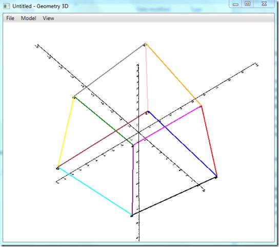 Geometry Visualizer 3D-HomeScreen1