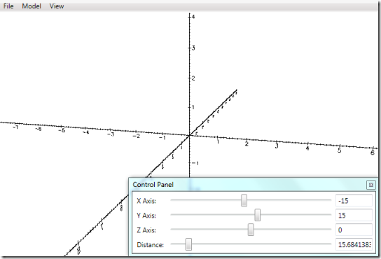 Geometry Visualizer 3D-HomeScreen