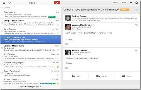 Gmail offline header image