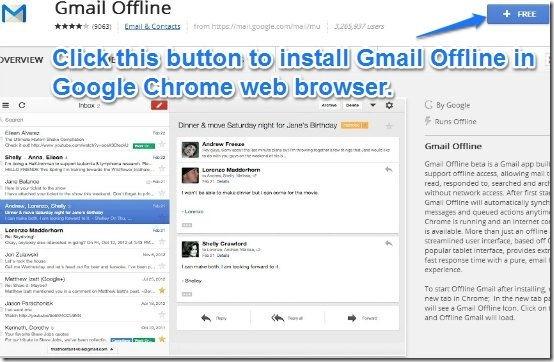Gmail offline install