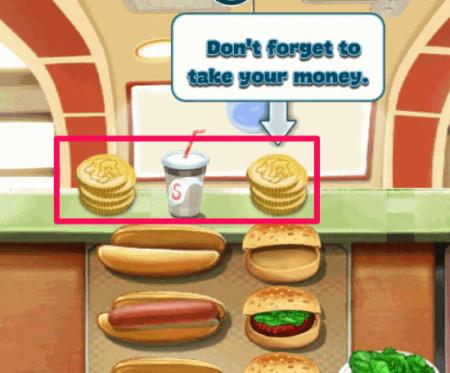 Happy Chef-Collect money