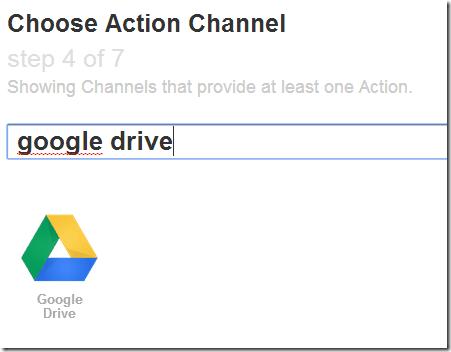 IFTTT Google Drive