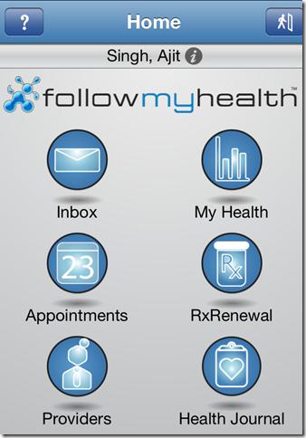 FollowMyHealth Mobile