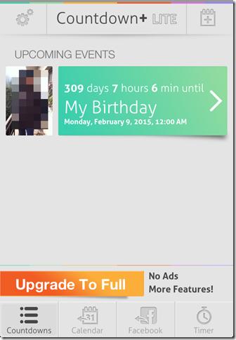 Countdown+ Event Reminder LITE