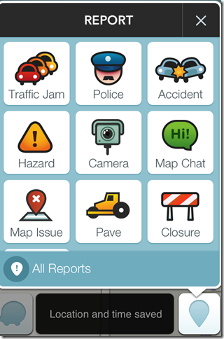 Waze Reports