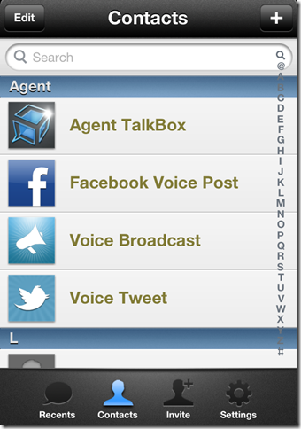 Broadcasting Messages On TalkBox