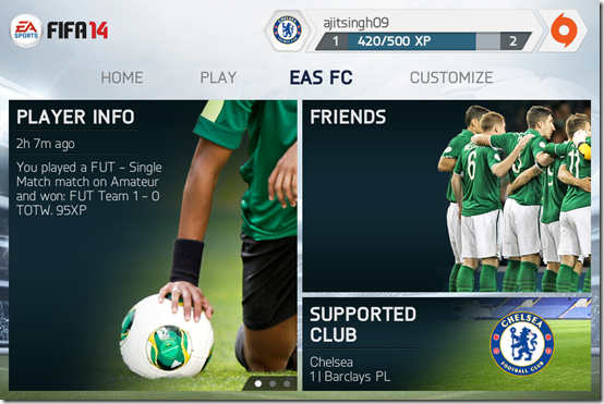 Other Features of FIFA 14