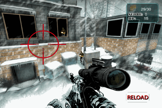 Sniper Shooting Games For iPhone.