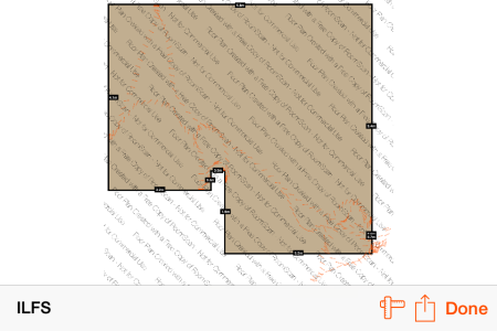 Floor Plan Created By RoomScan