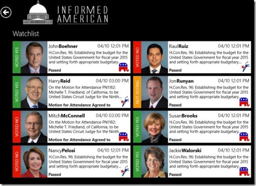 Informed Americans-Watchlist