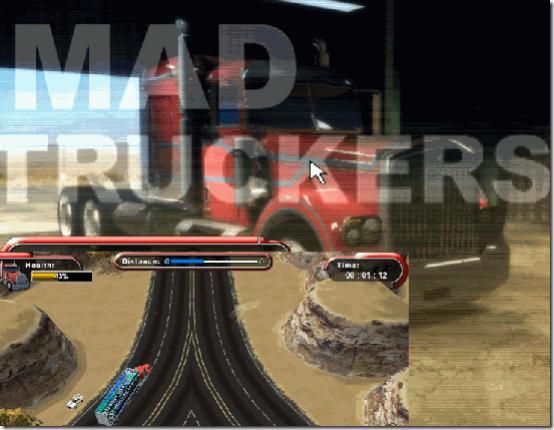 Mad Trucker Game