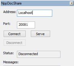 Npp Docshare - Notepad++ Plugin