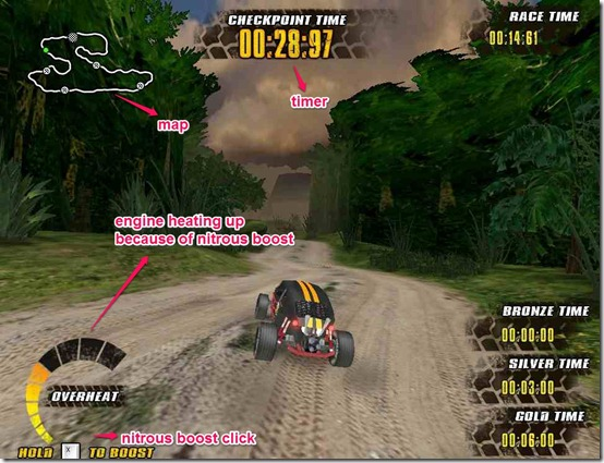 Off Road racers game page