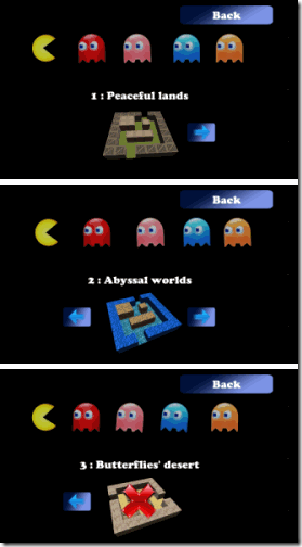 Pac-Man Ring Worlds