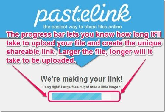 Pastelink - File Share box