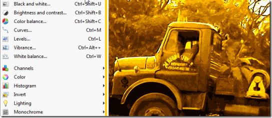 PhotoDemon-Adjustments and Image