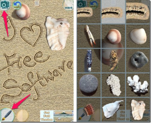 Sand Draw Free-objects