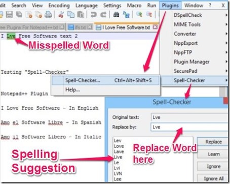 Spell-Checker - Scan Entire Document