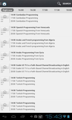 TV guide apps android 1