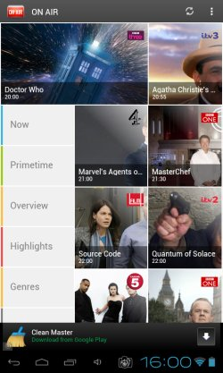 TV guide apps android 2