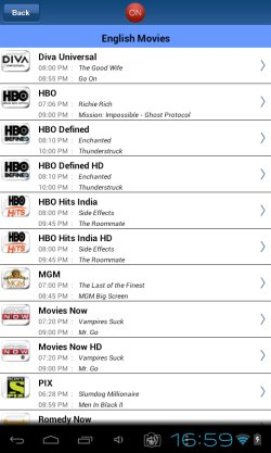 TV guide apps android 5