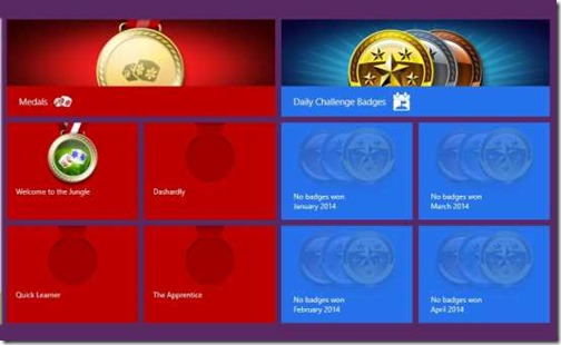 TapTiles-Awards and Badges