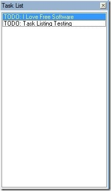Task List - Navigation Bar