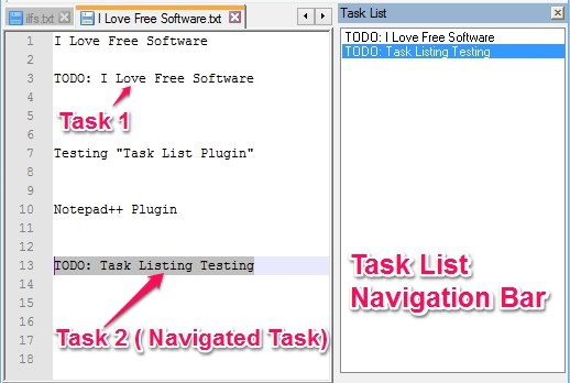 Task List - Todo List Plugin