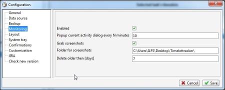 TimeSlotTracker configuration