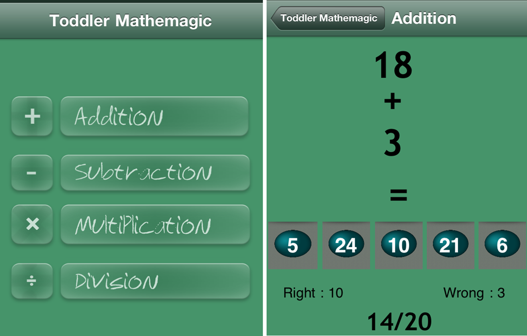 iPhone Apps To Teach Math To Kids