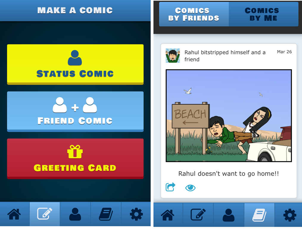 iPhone Apps To Create Comic Strips