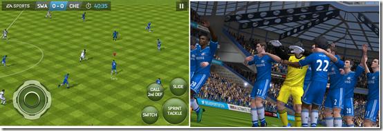 Playing FIFA 14