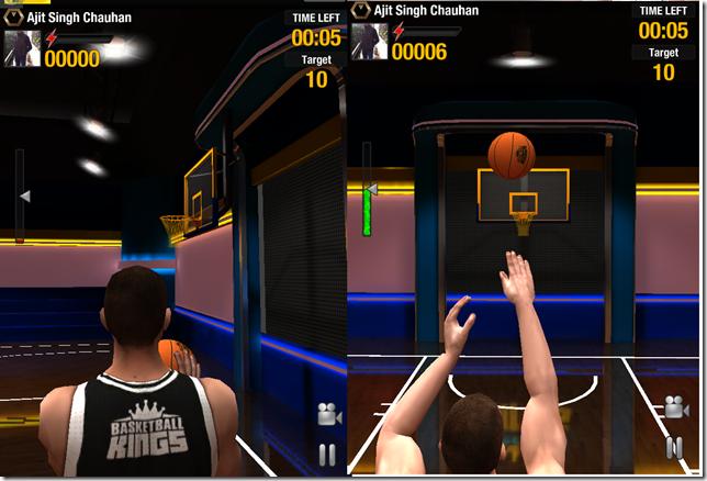 Playing Basketball Kings