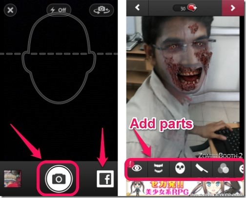 ZombieBooth 2-capture image-add effects