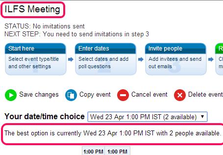 agreeAdate- online meeting scheduler