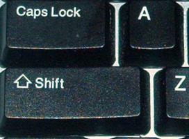 caps lock indicator-icon