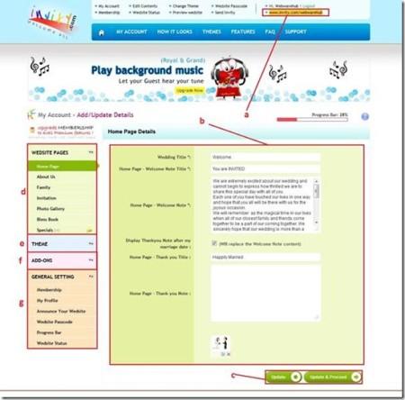 design online wedding invitation