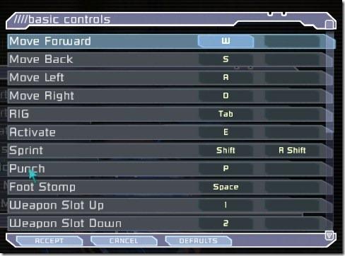 dead space controls