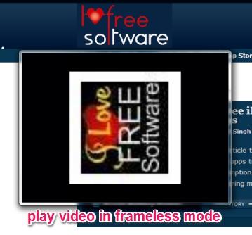 frameless mode