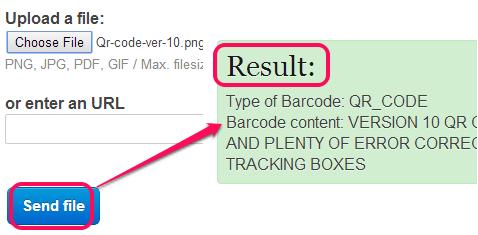 free online barcode scanner
