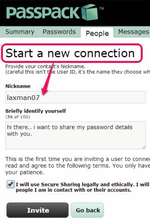 invite a user